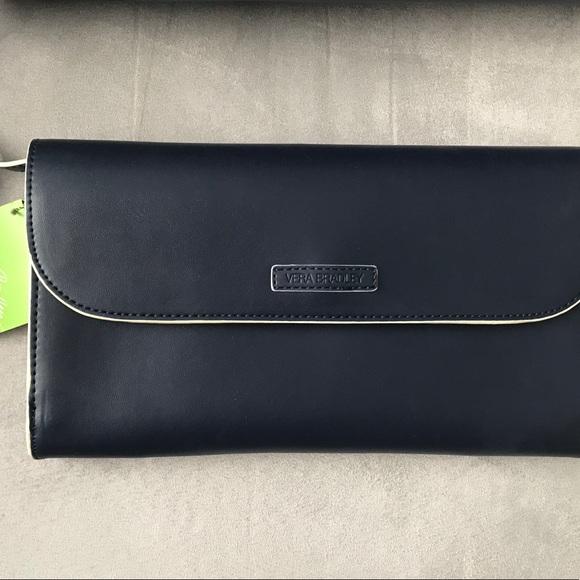 Vera Bradley Handbags - Vera Bradley RFID Flap Clutch/Crossbody - NWT